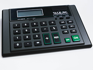 Big Number Talking Calculator