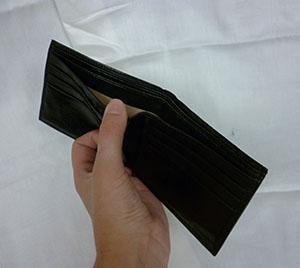 Money-organizing wallet