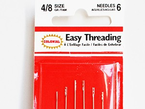 Easy threading sewing needles