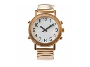Gold-tone Talking Watch