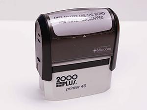 Free Matter Stamp