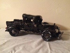 Clay model of a 1931 Ford Pickup