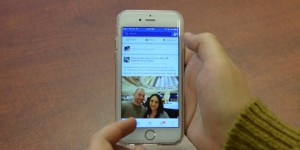 Using the Facebook App on an iPhone