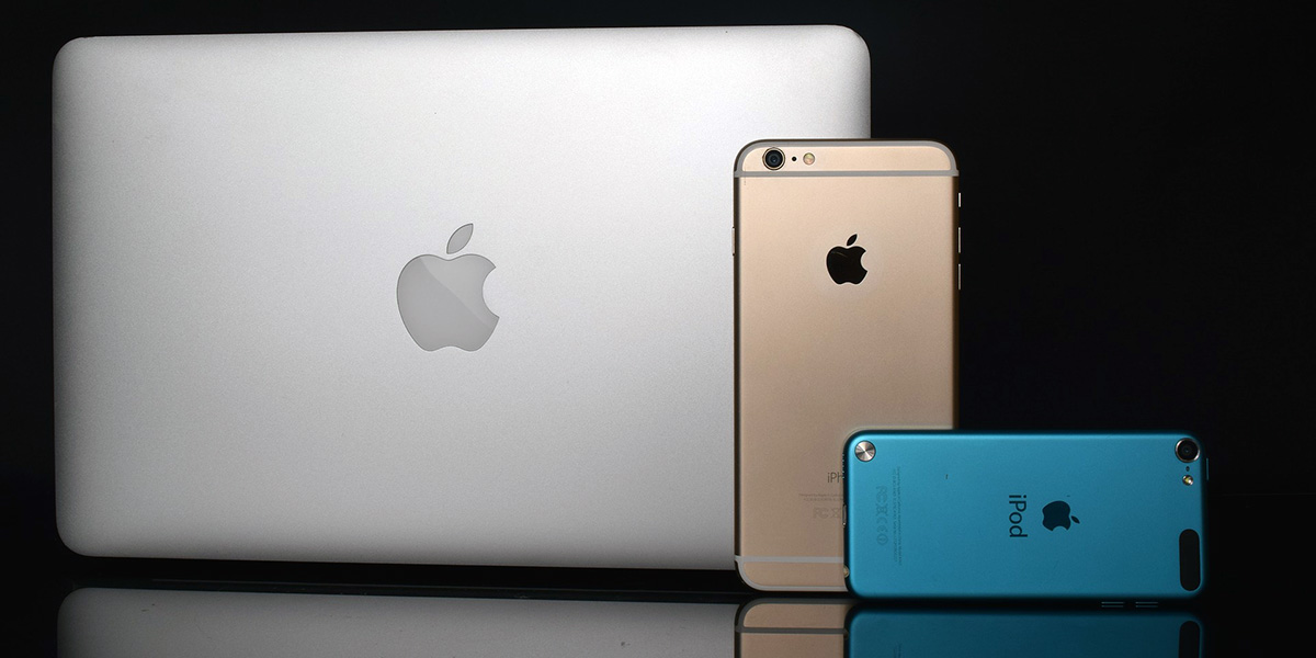 iMac, iPhone and iPod